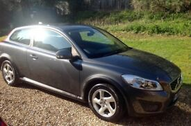 VOLVO C30 CAR GREY 2.0 COUPE LOW MILES, FULL SERVICE HISTORY, 2 OWNERS , FANTASTIC CONDITION