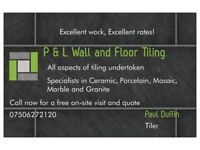 P & L Wall and Floor Tiling