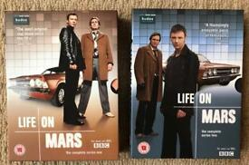 Life on mars series 1-2 DVDs
