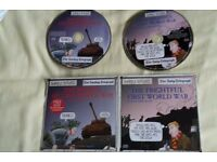 Horrible History Audio CD - First and Second World Wars