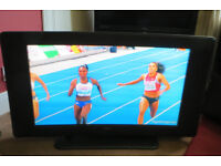 "Techwood 32"" flat screen LCD TV with Freeview Digibox £49"