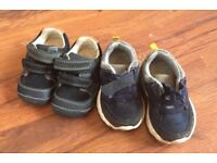 Two pairs size 3.5 shoes
