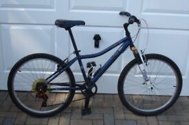 """Youths Mountain Bike 24in Wheel, Handle bar 36"""" Hight, Seat 27-34"""" Max Hight OFFERS"""