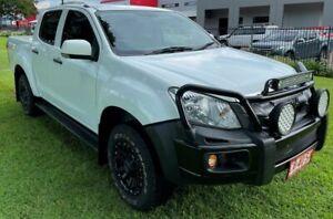 2014 Isuzu D-MAX MY15 LS-M Crew Cab White 5 Speed Manual Utility Winnellie Darwin City Preview