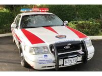 American cop car and uniformed cops available for Hen/Stag parties, weddings, birthdays