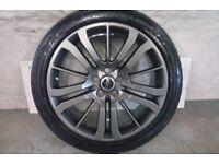 ALLOYS X 4 OF 20 INCH GENUINE RANGEROVER HSI/DISCOVERY/FULLY POWDERCOATED IN A ANTHRACITE MATT/ NICE