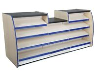 NEW 2.0m Confectionary Display Counter| Supermarket Shelving Checkout