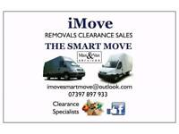 Man & Van, Removals, Clearance