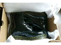 Dr Martens 1460 Black Patent Leather Boots