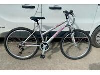 "Ladies mountain bike 17"" frame 26"" wheels £60"