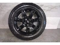 ALLOYS X 4 OF 19 INCH GENUINE RANGEROVER OR DISCOVERY FULLY POWDERCOATED IN STUNNING HIGHGLOSS BLACK