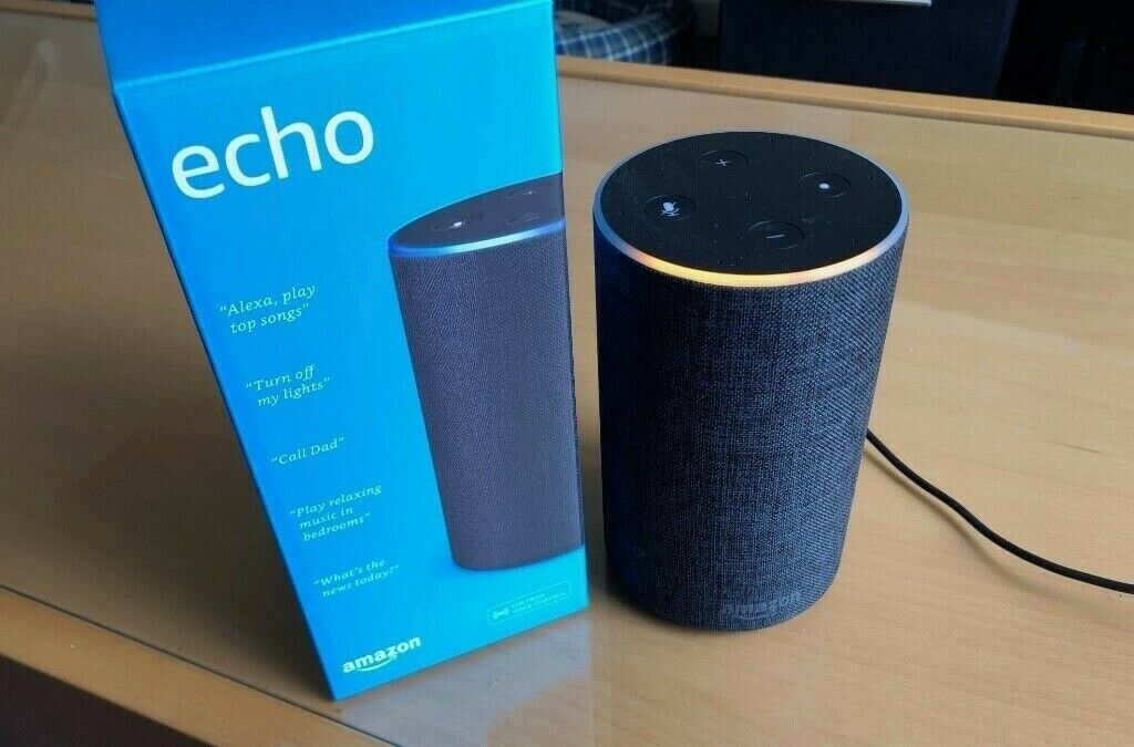 Amazon Echo (2nd Gen) - Smart speaker with Alexa - Charcoal Fabric | in  Brentry, Bristol | Gumtree
