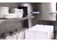Experienced Kitchen Porter wanted for busy Thai restaurant in E1