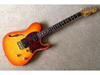 Vintage Advance AV2HHF (Thinline) electric guitar *PRICE DROP FOR QUICK SALE
