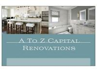 A to Z Capital Renovations .Free quotes! All trades available. Edinburgh + West/East Lothian