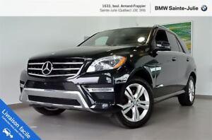 2014 Mercedes-Benz ML350 ML350 BlueTEC 4MATIC, Navigation, Lumie