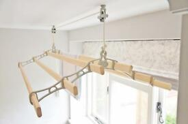 """Cast in style"" clothes airer /dryer /pot hanger"