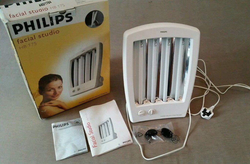 Philips Tanner HB175 Facial Studio Face UV Solarium Phillips Tan ...
