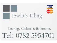 Tiler, Jewitt's Tiling, South Shields