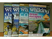 Country Walking magazines 2018