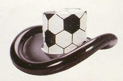 Großer aufblasbarer Fußball Hut Fan Hut Hutgröße 58-59 cm (L),ovp.NEU!