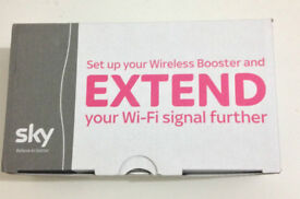 SKY new wireless booster - boxed - brand new