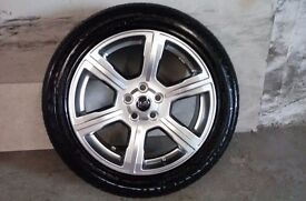ALLOYS X 4 OF 20 INCH GENUINE RANGEROVER/DISCOVERY/FULLY POWDERCOATED IN STUNNING SHADOW/CHROME NICE