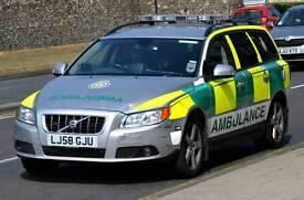 volvo v70 d5 rrv ambulance