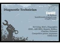 Mobile Car/Van/Truck Diagnostic Mechanic Cardiff/Bridgend/Newport