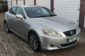 T-Z CARS PRESENT A 2007 LEXUS IS 250 AUTO SALOON F.L.S.H 6 MONTHS WARRANTY PX WELCOME