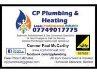 Plumber, Heating Engineer, Boilers, Bathrooms, Emergencies