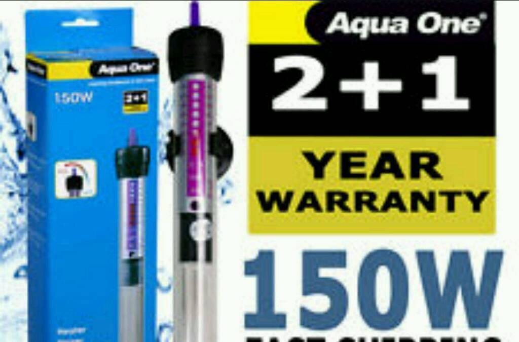 Aqua one 150w heater