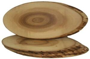 Mennonite Handcrafted Serving Trays Tree Slices Cutting Cheese Boards for Xmas Gifts