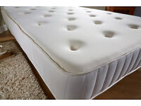 Kingsize, Mattress, changable sides, medium and firm support sides, double sided,