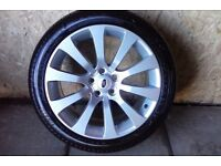 ALLOYS X 4 OF GENUINE 20 INCH RANGEROVER/DISCOVERY/AUTOBIOGRAPHY/FULLY POWDERCOATED IN DUTCH/SILVER