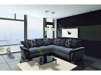 LUXURY SHANNON SOFA COLLECTION ** 3+2 SEATER SET OR CORNER SOFA NOW ONLY £490!