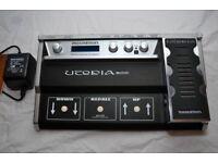 guitar multi effects pedal utopiaG100
