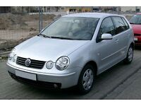 VW POLO 2003 MODEL 9N 1.2 WANTED FOR SPARES WHY ???????????