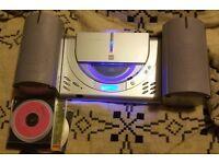 Small Hi Fi (Bush) - CD player and FM Radio + 3 CDs