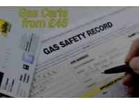 LANDLORD GAS CERTIFICATES £45 Plumbing & Heating