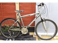 """Adults Giant Rock hybrid bike. 19"""" Frame M, 26"""" wheels"""