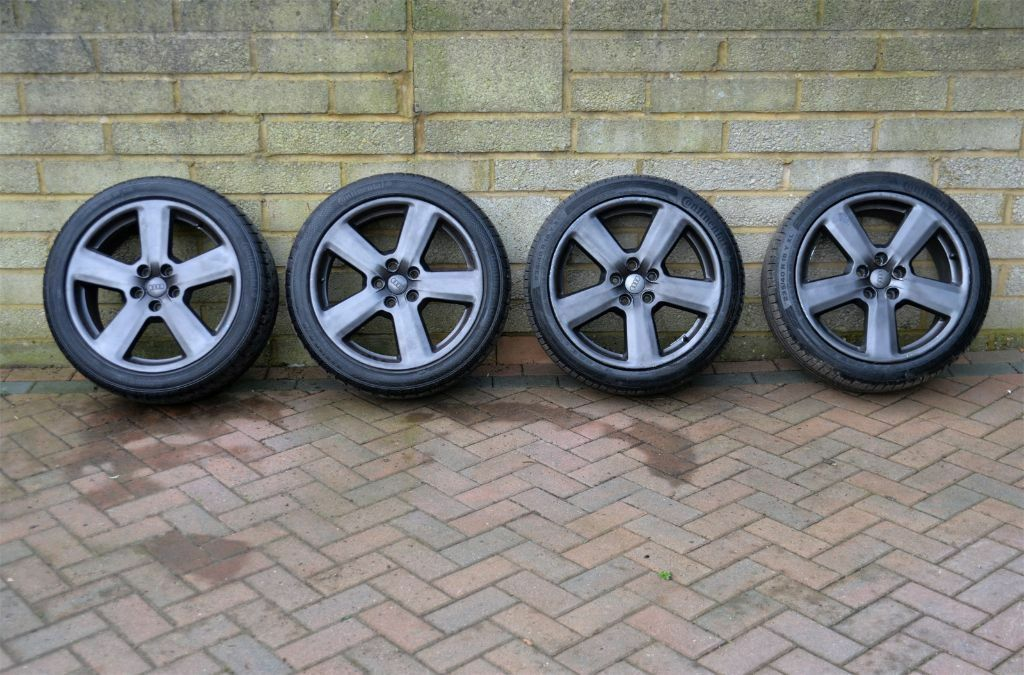 A Set Of Genuine Ronal Audi Rs6 A4 A6 Ronal 18 Quot 5x112