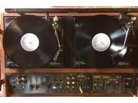 Citronic Stereo Hawaii Mk3 Twin record players (Retro vintage disco decks).