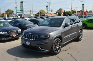 2015 Jeep Grand Cherokee SRT - AWD, 6.4L HEMI, Sunroof, Leather