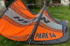 Naish Park 14 Kitesurf Kite - lightly used