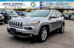2016 Jeep Cherokee NORTH, V6, REMOTE START, BLUETOOTH, PWR LIFTG