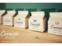 Cornish Milk Mineral paint - furniture and interior/exterior paint