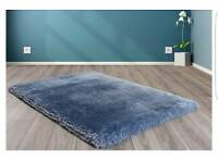 Brand new. Mayfair blue rug
