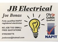 Qualified independant electrician. Part P registered, Competitive rates and call out charges