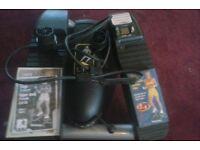 lateral thigh trainer with body power cords,manuals+vhs video
